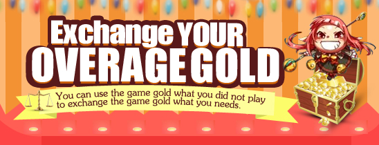 Exchange Your Overage Gold